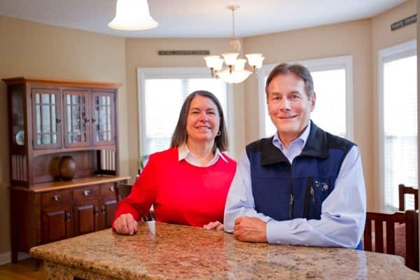 Laura and Don Koller in Lochhaven home in Noblesville (Photo by )