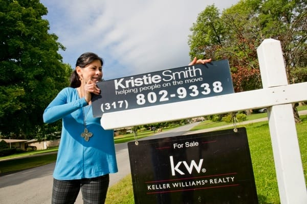 Indianapolis real estate agent Kristie Smith