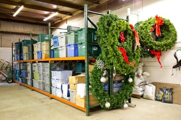 storage facility to house Christmas decorations (Photo by )