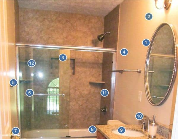 remodeling a bathroom for less than $9,000 | angie's list