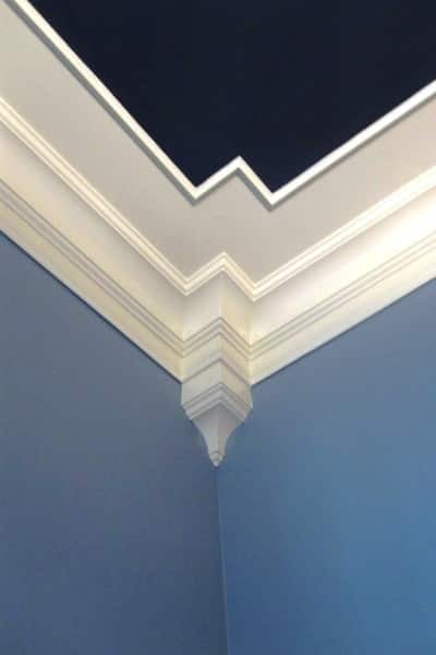 For detailed painting work, especially around intricate moldings like this, consider hiring a professional. (Photo courtesy of Angie's List member Neely M. of Fuquay Varina, N.C.)