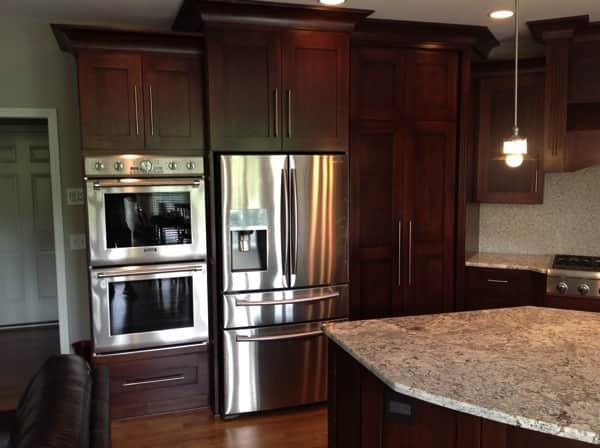 Angie's List member Darrell T. of Kansas City, Mo., says his newly renovated kitchen not only looks good, but works even better. (Photo courtesy of member)