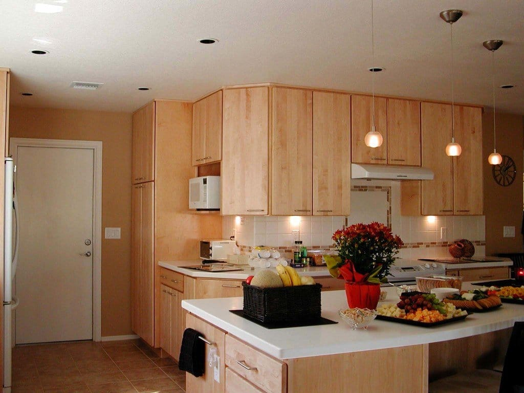 Hanging kitchen light fixtures