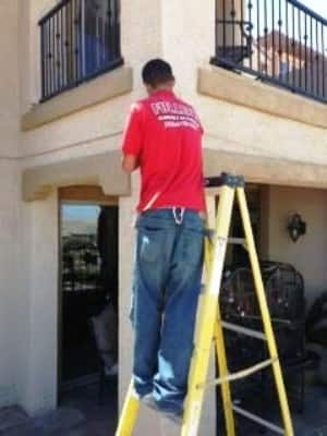 """""""They did an immaculate job and went the extra mile to find tubing and clips for exact match of my stucco."""" (Photo courtesy of Angie's List member Debra Stefan of Henderson, Nev.)"""