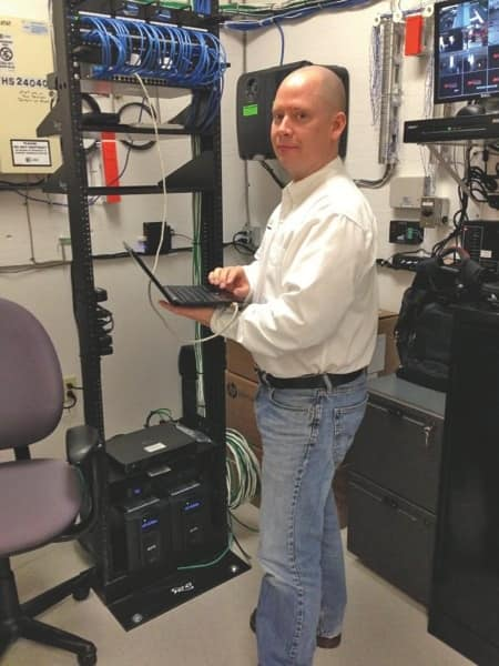 Jerry Jones, pictured here, started his computer repair company, TechBachelors, in 2006. (Photo courtesy of Jerry Jones)