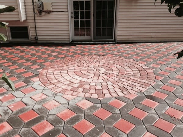 Patio pavers are a great option to add appeal to the outside of your home. (Photo contributed by Angie's List member Nick G., of East Northport, New York)