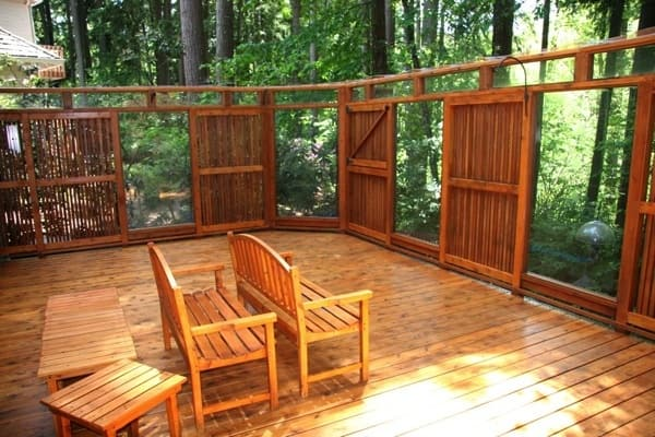 Homeowner Larry J. of Beaverton, Ore., is pleased he hired Bernard Painting to refinish his deck after passing on the company two years ago. (Photo courtesy of Angie's List member Larry J.)