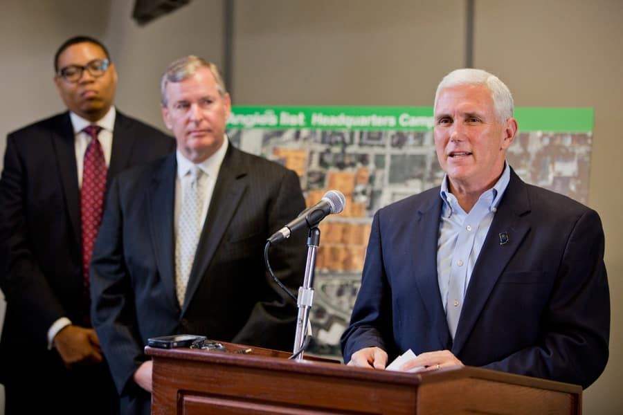 Gov. Mike Pence (Photo by )