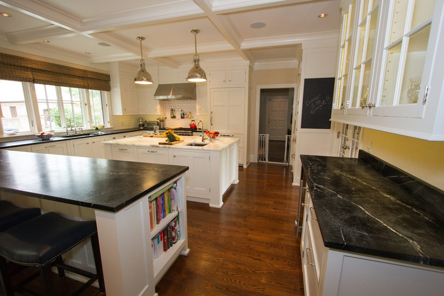 Soapstone And Calcutta Gold Marble Countertops