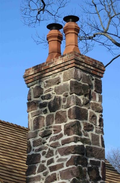 Regular inspections and chimney cleanings can help prevent costly repairs and dangerous creosote buildup. (Photo courtesy of Angie's List member Alexander B. of Summit, N.J.)