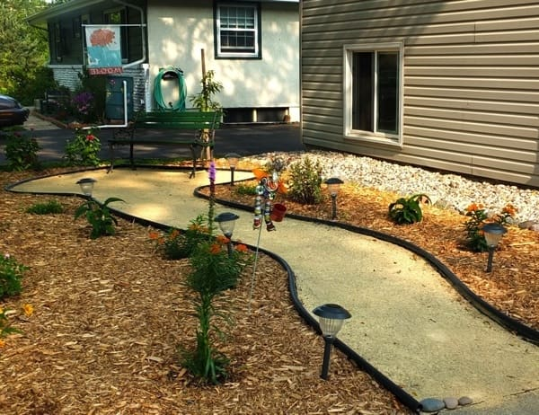 Sirek Landscaping transformed a lawn into a wildflower garden to attract birds, butterflies and bees. (Photo courtesy of Angie's List member Noah L. of St. Paul, Minn.)