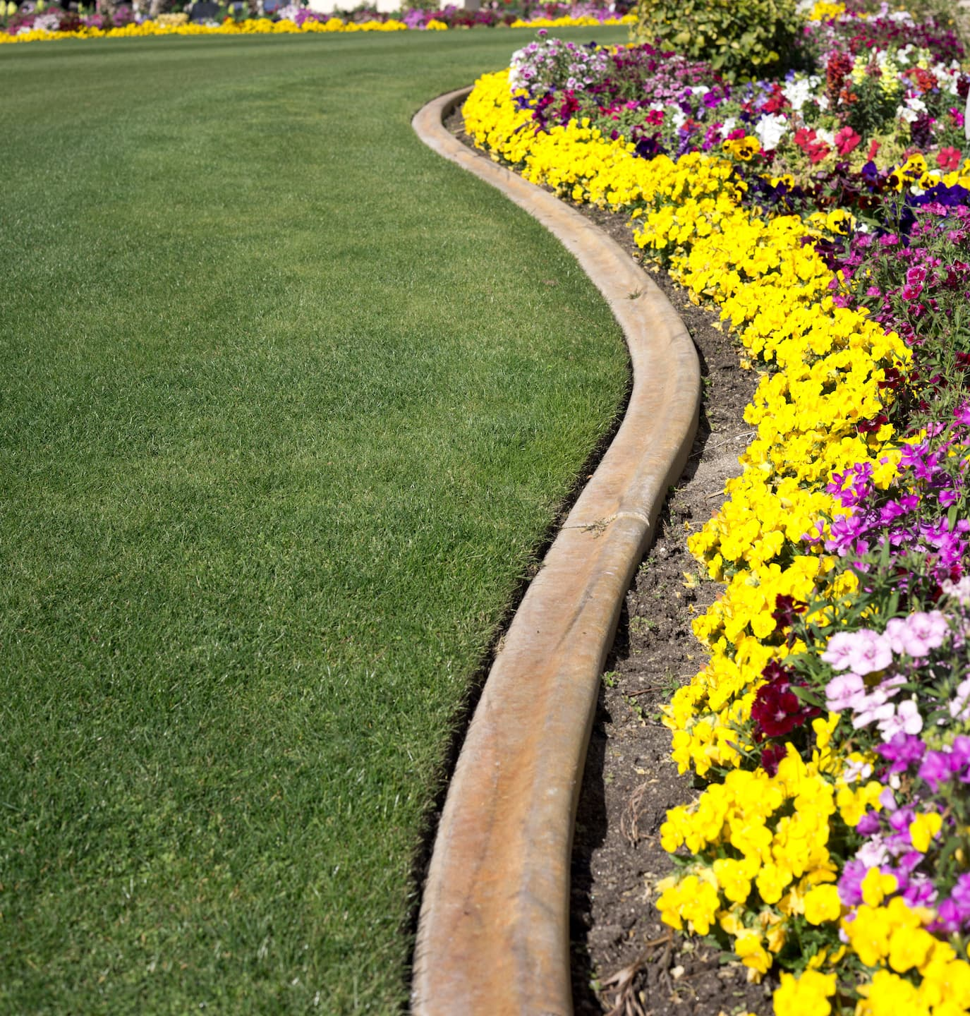 Ideas For Flower Bed Borders: 10 Edging Ideas For Flower Beds, Gardens And Landscaping