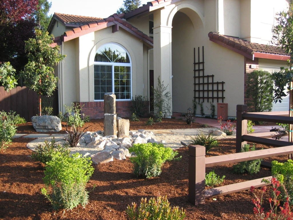 Xeriscape, No Grass Front Yard