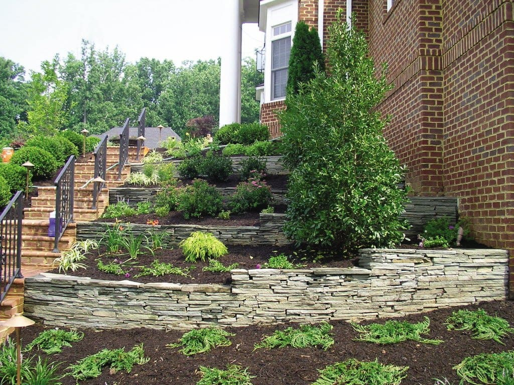 Front Yard Landscaping Ideas | Angie's List on Terraced Front Yard Ideas id=85508