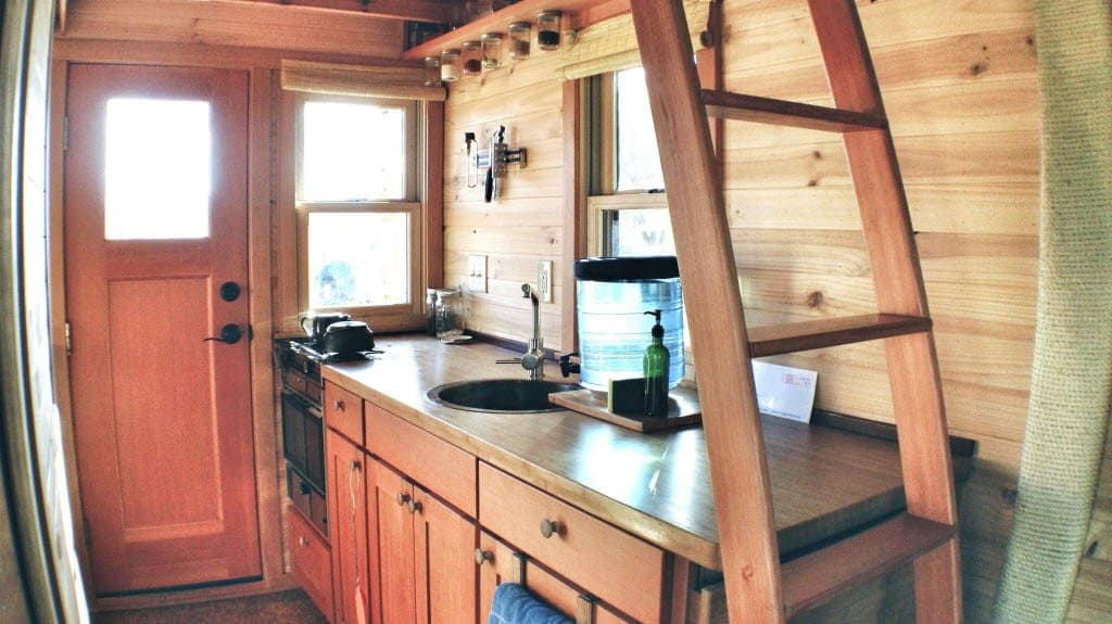If Youu0027re Thinking Of Joining The Tiny House Movement, An Efficient Kitchen  Layout Is A Must. Most Tiny Houses Include Hidden Appliances And Storage To  ...