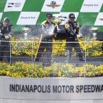 Winners Celebrate Angie's List Grand Prix Victory