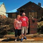 an Oklahoma home is destroyed by EF-5 tornado