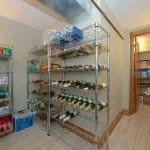 basement organization and storage