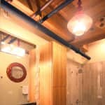 exposed beam ceiling