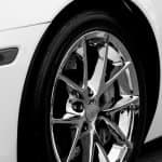 Chrome car rim