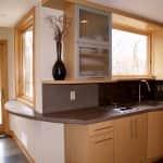 brown concrete countertops