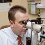 Eye doctors can diagnose more than near- or farsightedness during annual vision tests. (Photo by Brandon Smith)