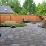 backyard pavers