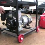 portable electric power generator