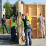 Angie's List employees volunteer for Habitat for Humanity