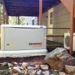 backup power generator (Photo by Brandon Smith)