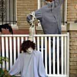 Halloween hanging in D.C.