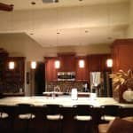 kitchen remodel with granite countertop