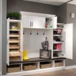 Often used as an additional entrance into the home, mudrooms often provide organization and storage solutions for busy families. (Photo courtesy of ORG Home)