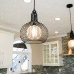 copper pendant light kitchen