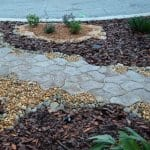 Several dryscaping options offer many benefits, which include less maintenance and a lower water bill, says Sadree. (Photo courtesy of Sadree Landscape Design)