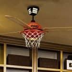 basketball decroative ceiling fan