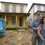 Arthur and Khristina Haan decided to remodel a 150-year-old home in the Fletcher Place neighborhood just south of Indianapolis. (Photo by Frank Espich)