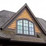 Cedar wood roof shingles