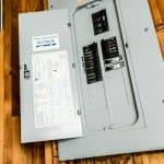 An electrical breaker box (Photo by Summer Galyan / Angie's List)