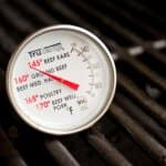 Use a food thermometer to check the temperature of refrigerated and frozen food after a power outage. (Photo by Eldon Lindsay)