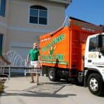 Donating items before a move is a great way to lessen the load, and make the overall cost of the move less expensive. (Photo courtesy of College Hunks Hauling Junk)