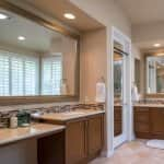 Recessed Lighting in Bathroom