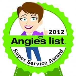 2012 Super Service Award badge