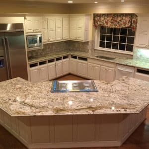 Granite Kitchen Countertop Photo By Courtesy Of Susan Viviano