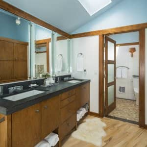 bathroom vanity countertop and cabinet