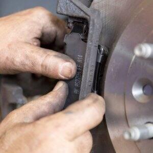 Replacing your brake pads