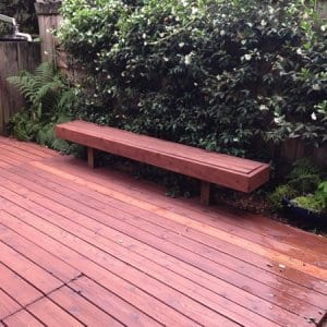 Hiring a contractor to stain your deck every two to four years will signficantly increase its lifespan.