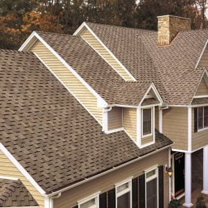 Gaf Shingle Gable Roof