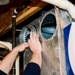 HVAC ventillation ductwork