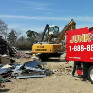 Have leftover car parts, broken-down appliances or just junk made of steel? It can be melted down and recycled. (Photo by Junk King of North Texas)